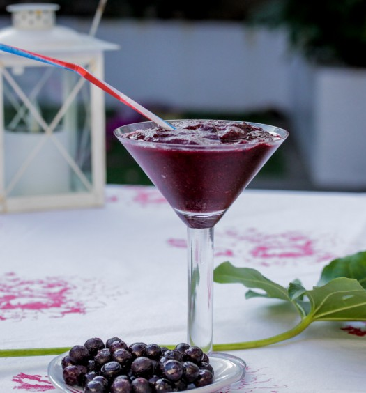 Blueberry Margarita - Eat Drink Live Well