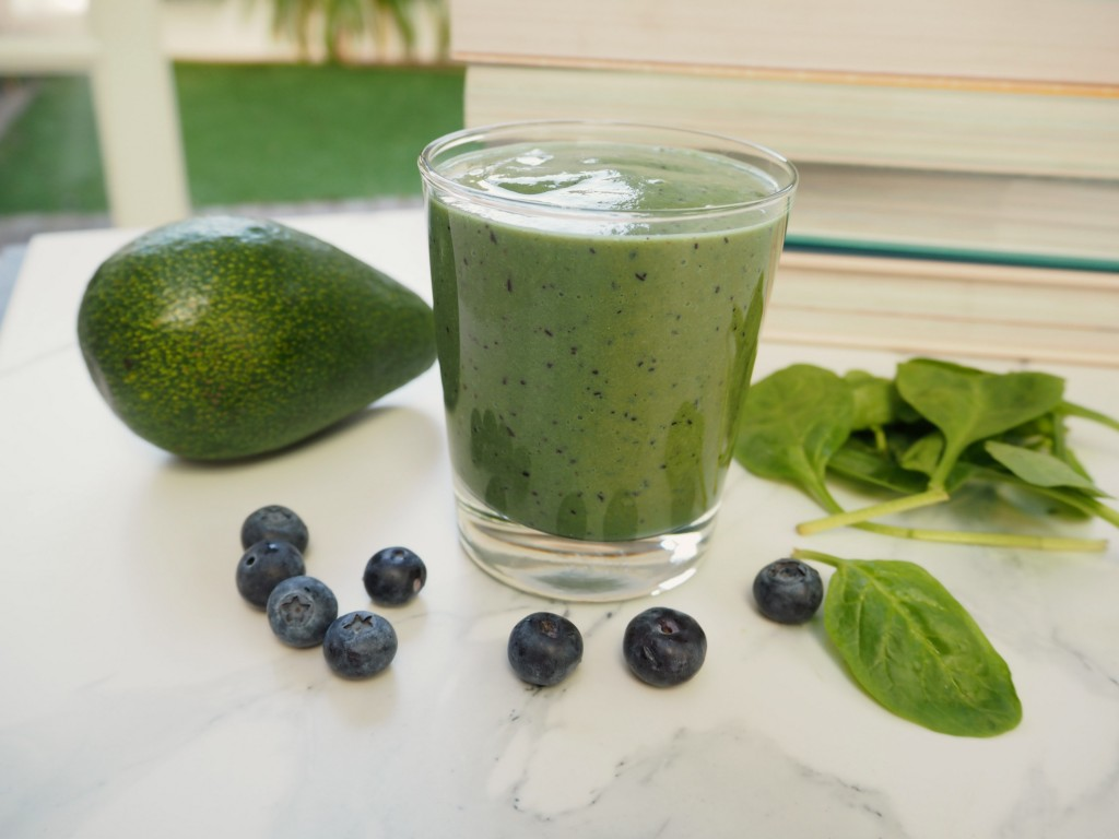 green hangover smoothie