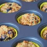 almond berry muffins 2