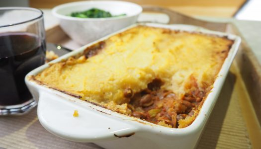 Healthy Vegetarian Shepherd's Pie