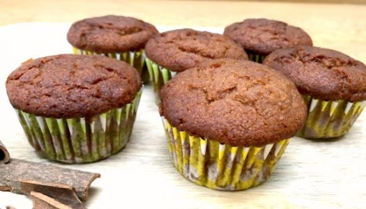 Sweet potato and cinnamon cupcakes