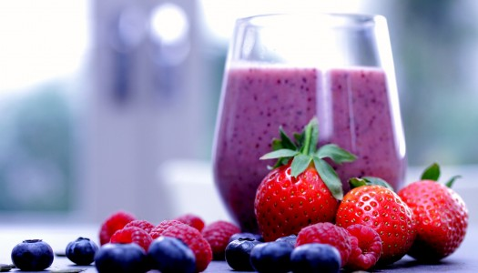 Simple berry smoothie