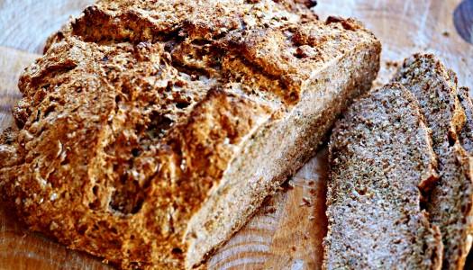 Easy spelt soda bread