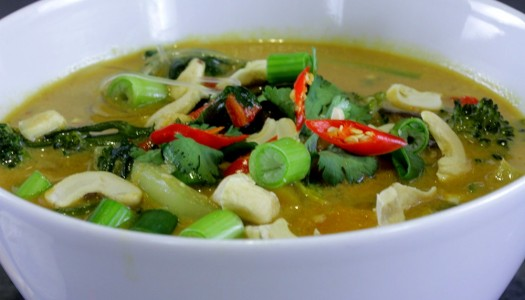 Cure a cold spicy soup