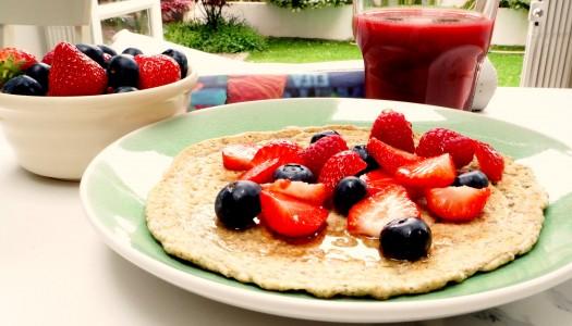 Gluten free healthy pancakes