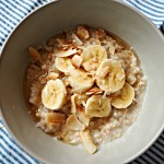 banana coconut porridge