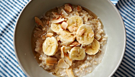 Porridge – an easy, quick, healthy breakfast
