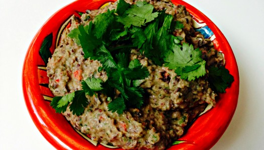 Black Bean and Jalapeño Dip