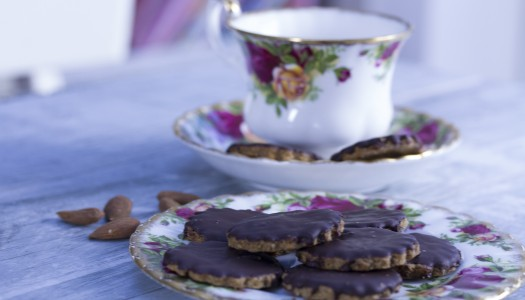 Healthy Chocolate Hobnobs