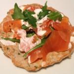 salmon pancakes