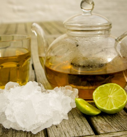 Green Tea and Ice - Eat Drink Live Well