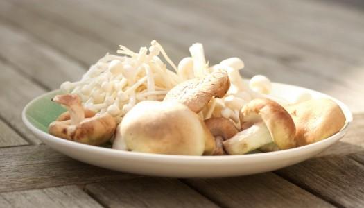 Let your mushrooms sunbathe
