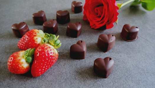 Chocolate strawberry creams