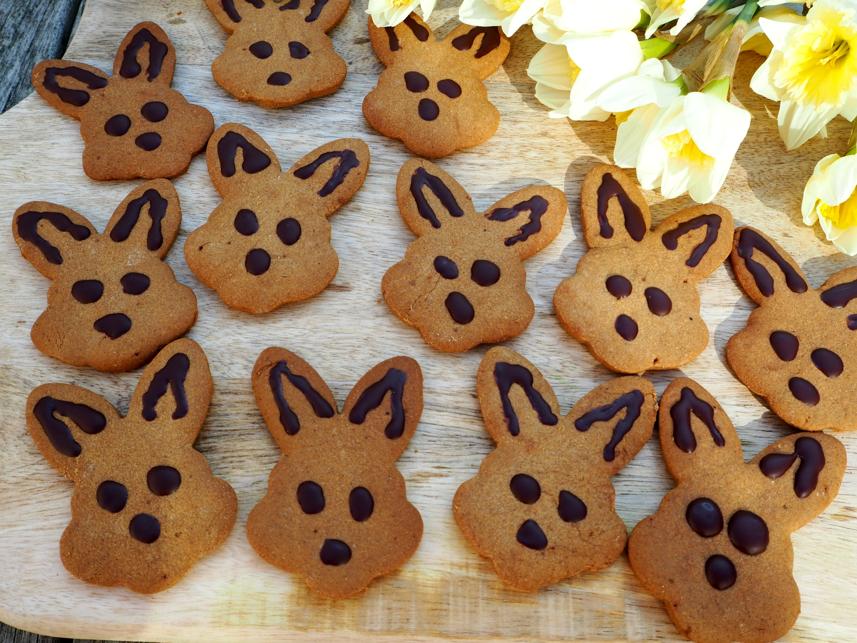 gingerbread bunnies