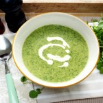 healthy watercress soup