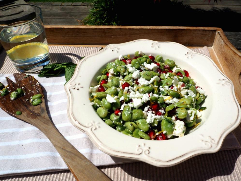 broad bean salad 2