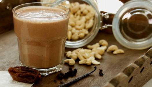 Cashew Chocolate Milkshake